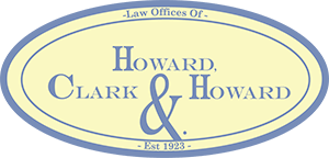 Law Offices Of Howard, Clark & Howard Logo